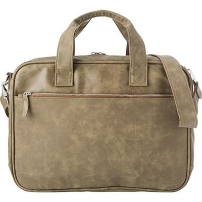 Picture of LAPTOP BAG in Taupe