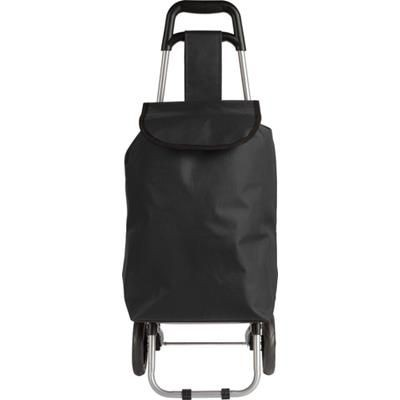 Picture of POLYESTER 600D SHOPPER TOTE BAG TROLLEY in Black
