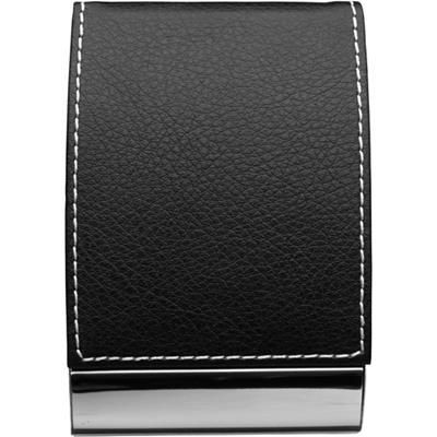 Picture of METAL & PU BUSINESS CARD HOLDER in Black