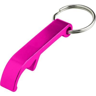 Picture of KEYRING BOTTLE OPENER in Pink