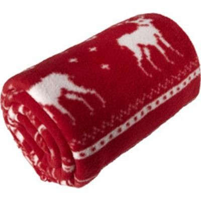 Picture of POLAR FLEECE REINDEER PICNIC BLANKET 180 GR-M2