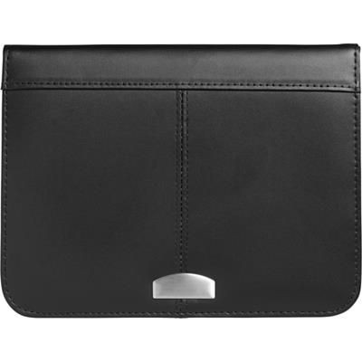 Picture of A5 CONFERENCE FOLDER in Black Leather