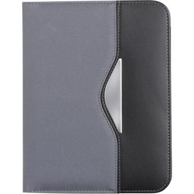 Picture of A5 CONFERENCE FOLDER in Grey & Black