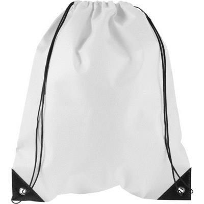 Picture of NONWOVEN 80 GR-M² DRAWSTRING BACKPACK RUCKSACK
