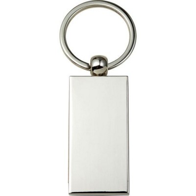 Picture of METAL AND WOOD KEY HOLDER KEYRING