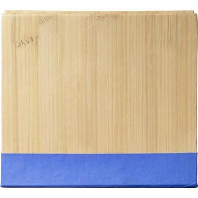 Picture of NOTE CUBE BLOCK with Sticky Notes in Cobalt
