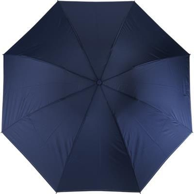 Picture of FOLDING AND REVERSIBLE AUTOMATIC UMBRELLA in Blue