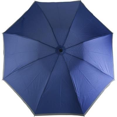 Picture of FOLDING AND REVERSIBLE AUTOMATIC UMBRELLA in Cobalt Blue