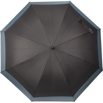 Picture of AUTOMATIC PONGEE 190T UMBRELLA in Grey