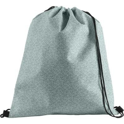 Picture of NONWOVEN DRAWSTRING BACKPACK RUCKSACK in Green