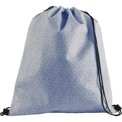 Picture of NONWOVEN DRAWSTRING BACKPACK RUCKSACK in Blue