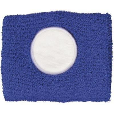 Picture of COTTON WRIST SWEAT BAND in Blue