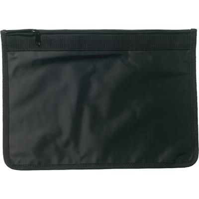 Picture of DOCUMENT WALLET in Black
