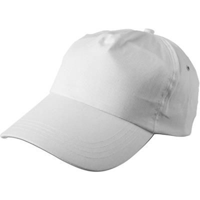 Picture of PORTMAN BASEBALL CAP in White