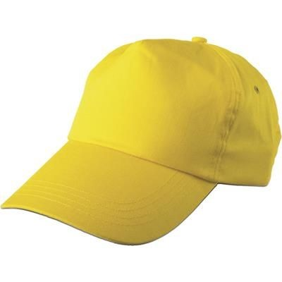 Picture of PORTMAN BASEBALL CAP in Yellow