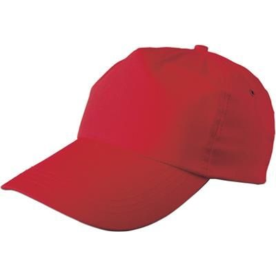 Picture of PORTMAN BASEBALL CAP in Red