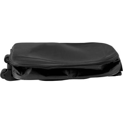 Picture of FOLDING TRAVEL TROLLEY BAG CASE in Black
