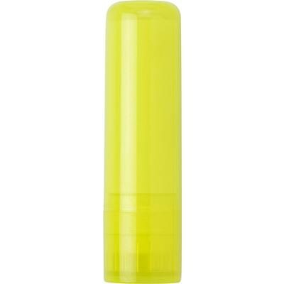 Picture of LIP BALM TUBE in Translucent Yellow