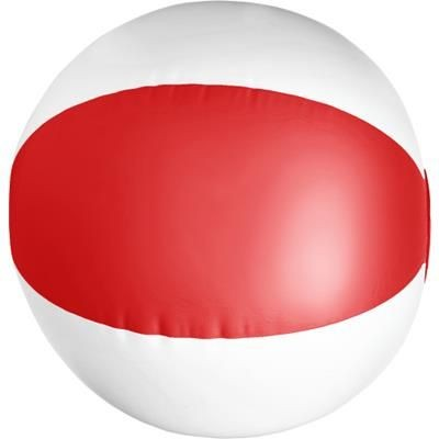 Picture of BEACH BALL in Red & White