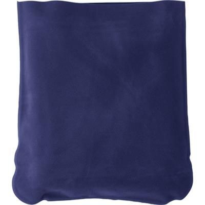 Picture of INFLATABLE TRAVEL CUSHION in Blue
