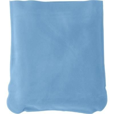 Picture of INFLATABLE TRAVEL CUSHION in Light Blue