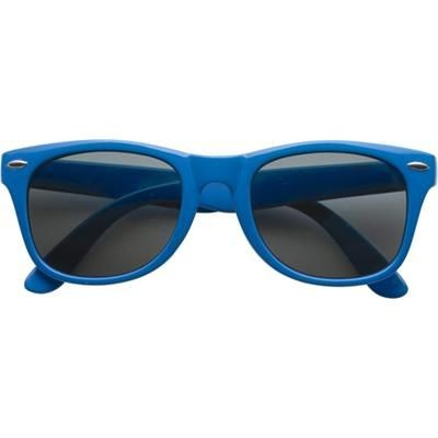 Picture of CLASSIC PLASTIC FASHION SUNGLASSES in Blue