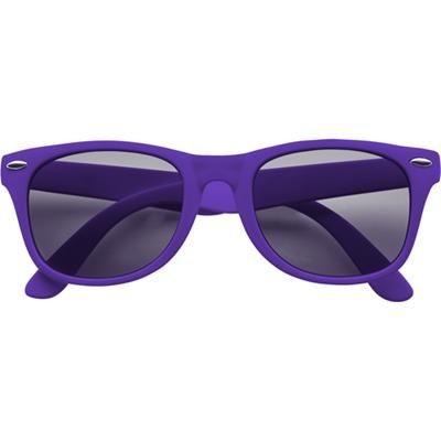 Picture of CLASSIC PLASTIC FASHION SUNGLASSES in Purple