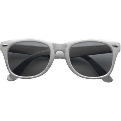 Picture of CLASSIC PLASTIC FASHION SUNGLASSES in Silver