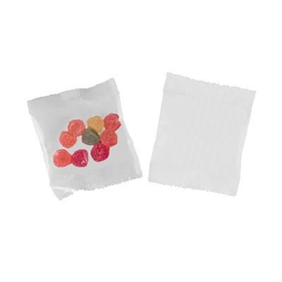 Picture of BAG with 10g Fruit Gums or Jelly Beans