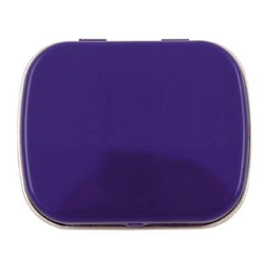 Picture of FLAT TIN with 25g of Mints in Black