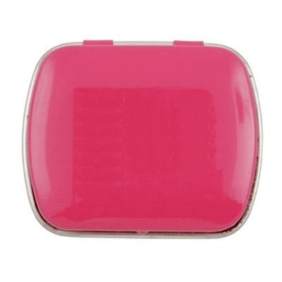 Picture of MINI HINGED TIN with Extra Strong Mints in Yellow