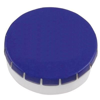 Picture of PLASTIC ROUND MINTS CONTAINER in Black