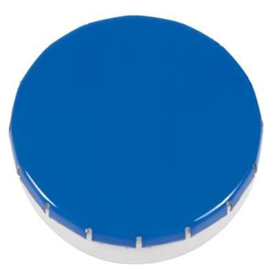 Picture of PLASTIC ROUND MINTS CONTAINER in White