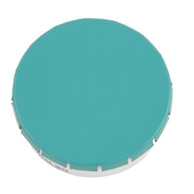 Picture of PLASTIC ROUND MINTS CONTAINER in Light Blue