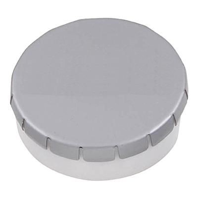 Picture of PLASTIC ROUND MINTS CONTAINER in Pink