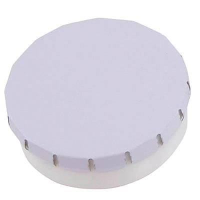 Picture of PLASTIC ROUND MINTS CONTAINER in Rose