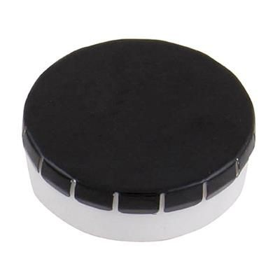 Picture of PLASTIC ROUND MINTS CONTAINER in Silver