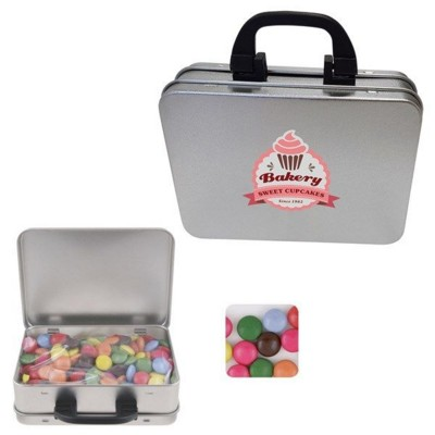 Picture of SUITCASE TIN with Chocos