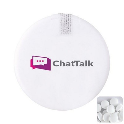 Picture of ROUND MINTS DISPENSER in White