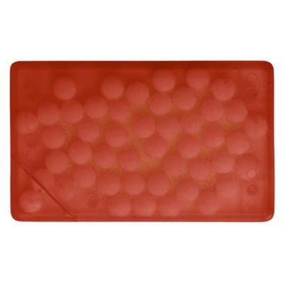 Picture of MINTS CARD with 8g of Mints in Red
