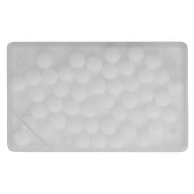 Picture of MINTS CARD with 8g of Mints in Clear Transparent