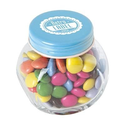 Picture of SMALL GLASS CHOCOLATE JAR