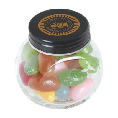 Picture of SMALL GLASS JAR with Jelly Beans