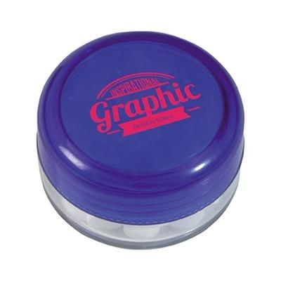 Picture of ROUND PLASTIC MINTS CONTAINER