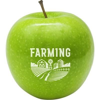 Picture of RED APPLE with Printed Logo