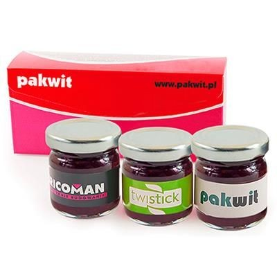 Picture of SET OF 3 JARS OF JAM