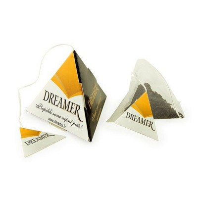 Picture of PYRAMID TEA BAG with Printed Tag