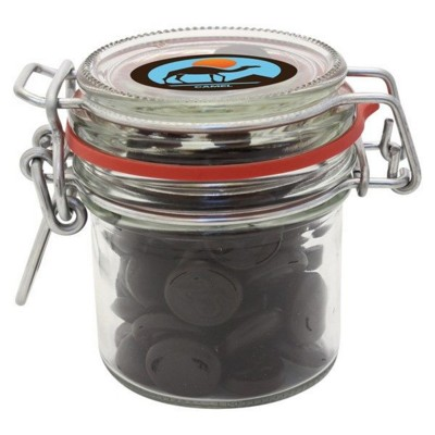 Picture of 125ML & 275GR GLASS JAR FILLED with Haribo Liquorice