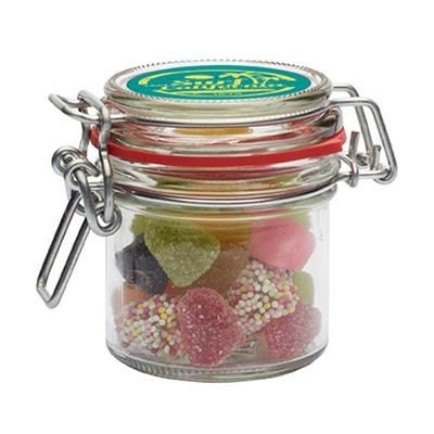 Picture of 255ML GLASS JAR with Choice of Base Category Sweets