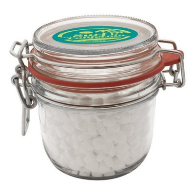 Picture of 255ML & 480GR GLASS JAR FILLED with Extra Strong Mints